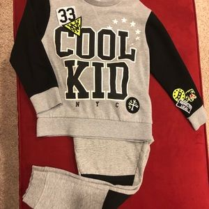 H&M kids jogger set